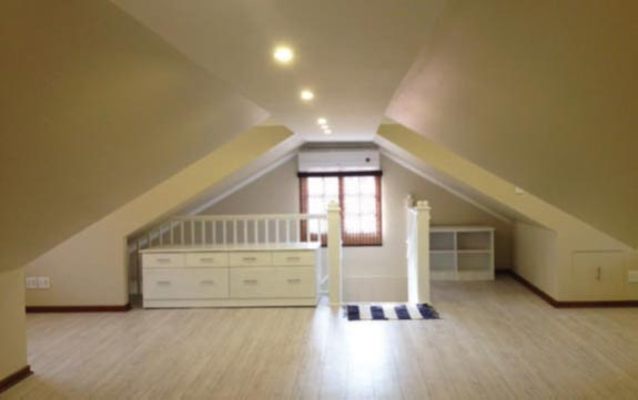 A Room Inside A Roof Gwr Roofing